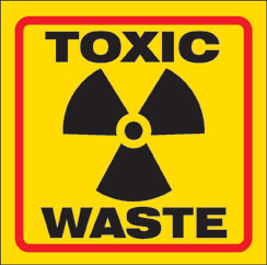 Goody's Roll Off Dumpsters does not accept Toxic Waste
